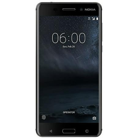 Nokia 6 Ta 1025 32Gb Unlocked Gsm Android Phone W  16Mp Camera   Black