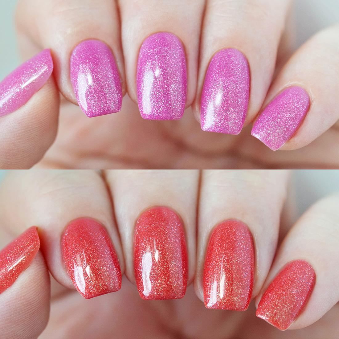 BMC Thermal Effect Color Changing Nail Lacquer Gel Polish - Sedona ...