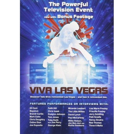 ELVIS-VIVA LAS VEGAS (DVD-HISTORY OF ELVIS IN VEGAS) ! NLA - Halloween Las Vegas Family 2017