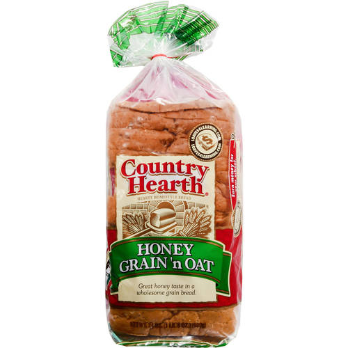 Country Health Honey Grain 'N Oat Bread, 24 oz