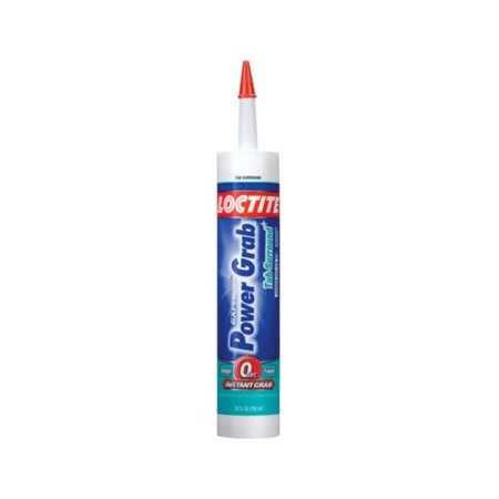LOCTITE� POWER GRAB� EXPRESS TUB SURROUND CONSTRUCTION ADHESIVE, 10 OZ. per 6 (Best Adhesive For Tub Surround)