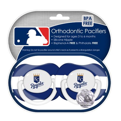 2-Pack Pacifiers - Kansas City Royals