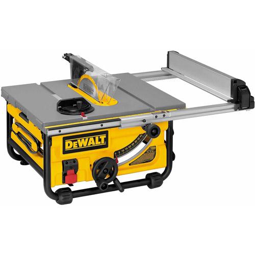 "***DNP Dewalt Power Tools DW745 10"" 15 Amp Compact Job Site Table Saw"