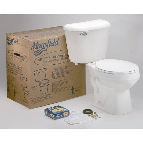 Mansfield Plumbing Products Pro-Fit 1 Front Complete 1.6 ...