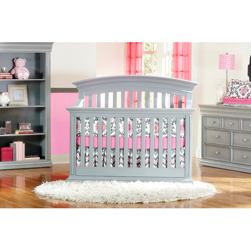 Baby's Dream Furniture Inc. Legendary Curved Top Converti...