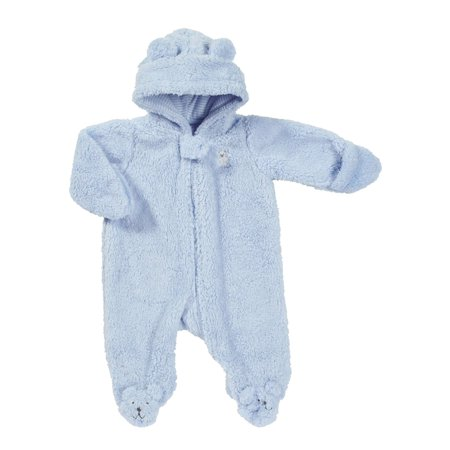 2d77d3524 Carters - Carters Infant Boys Bear Cub Sherpa Pram Baby Bunting Snowsuit -  Walmart.com
