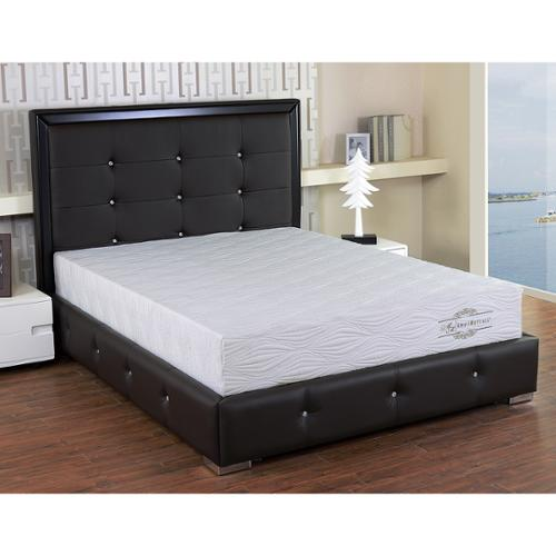 AC Pacific 10-inch Twin Size Gel Memory Foam Mattress