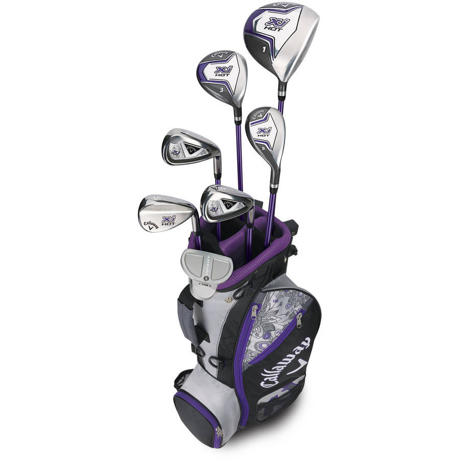 Callaway XJ Hot Girls 5-8 Set Juniors Flex, Black