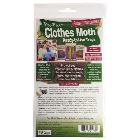 Pro-pest Clothes Moth Trap 3 Packs (6 Traps) - Walmart com