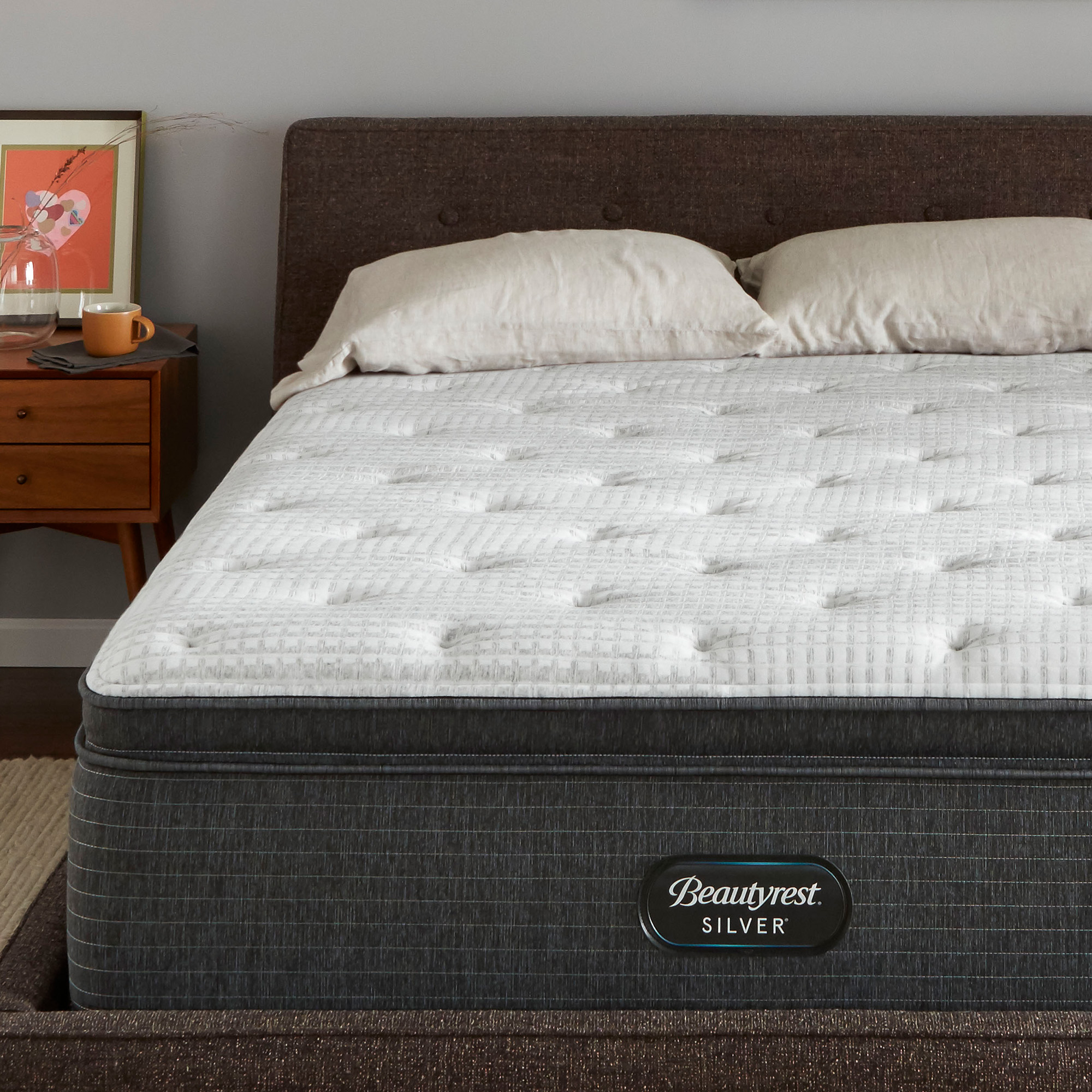 Beautyrest Silver Brs900 C Plush Pillow Top Mattress Walmart Com Walmart Com