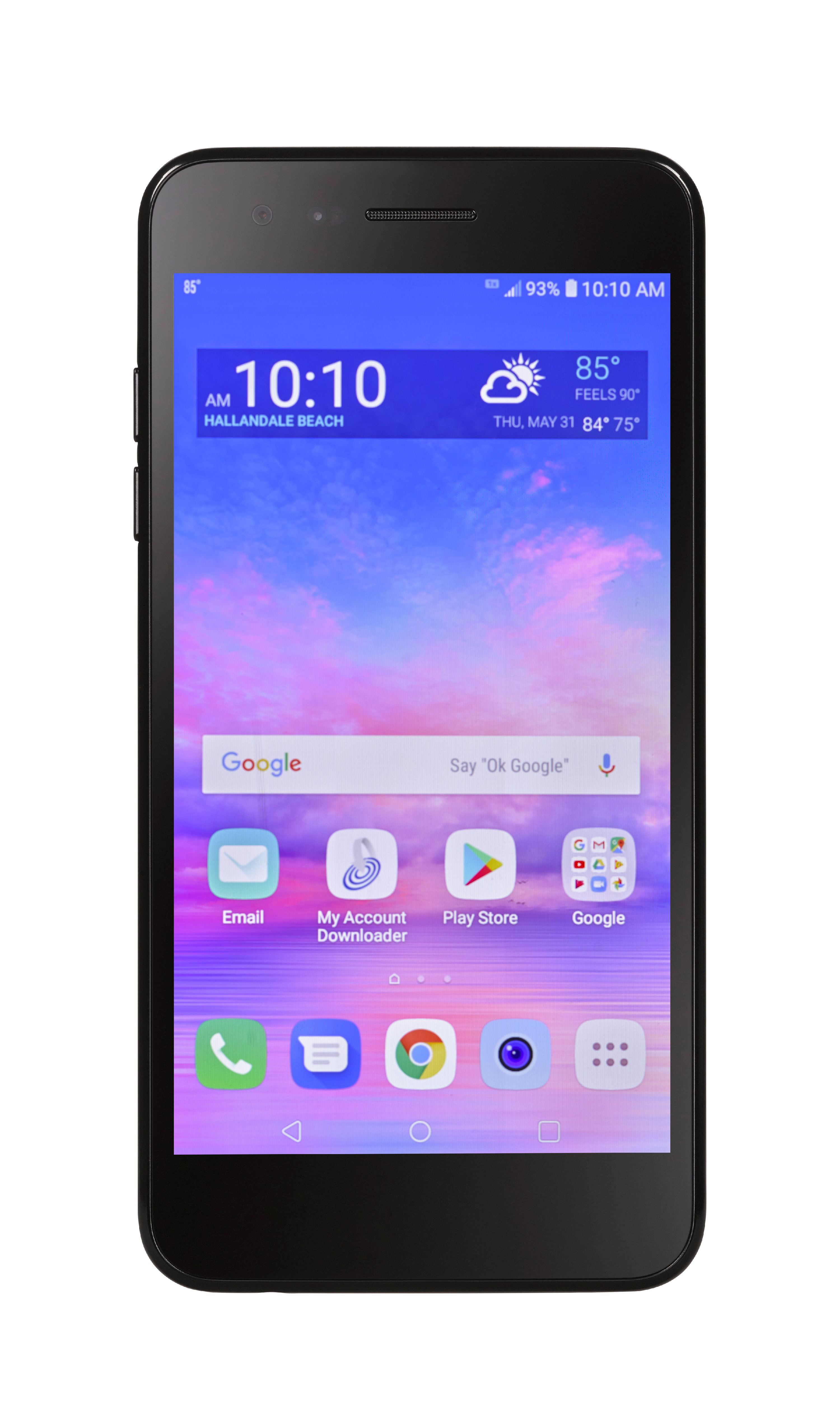 Tracfone Wireless LG Rebel 4 Prepaid Smartphone