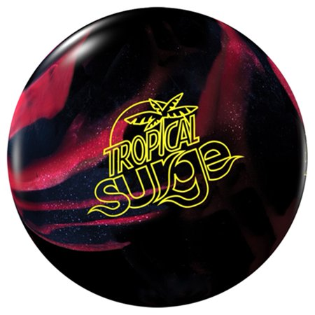 Storm Tropical Surge PRE-DRILLED Bowling Ball- Black/Cherry