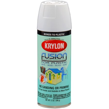 krylon fusion for plastic spray paint. Black Bedroom Furniture Sets. Home Design Ideas