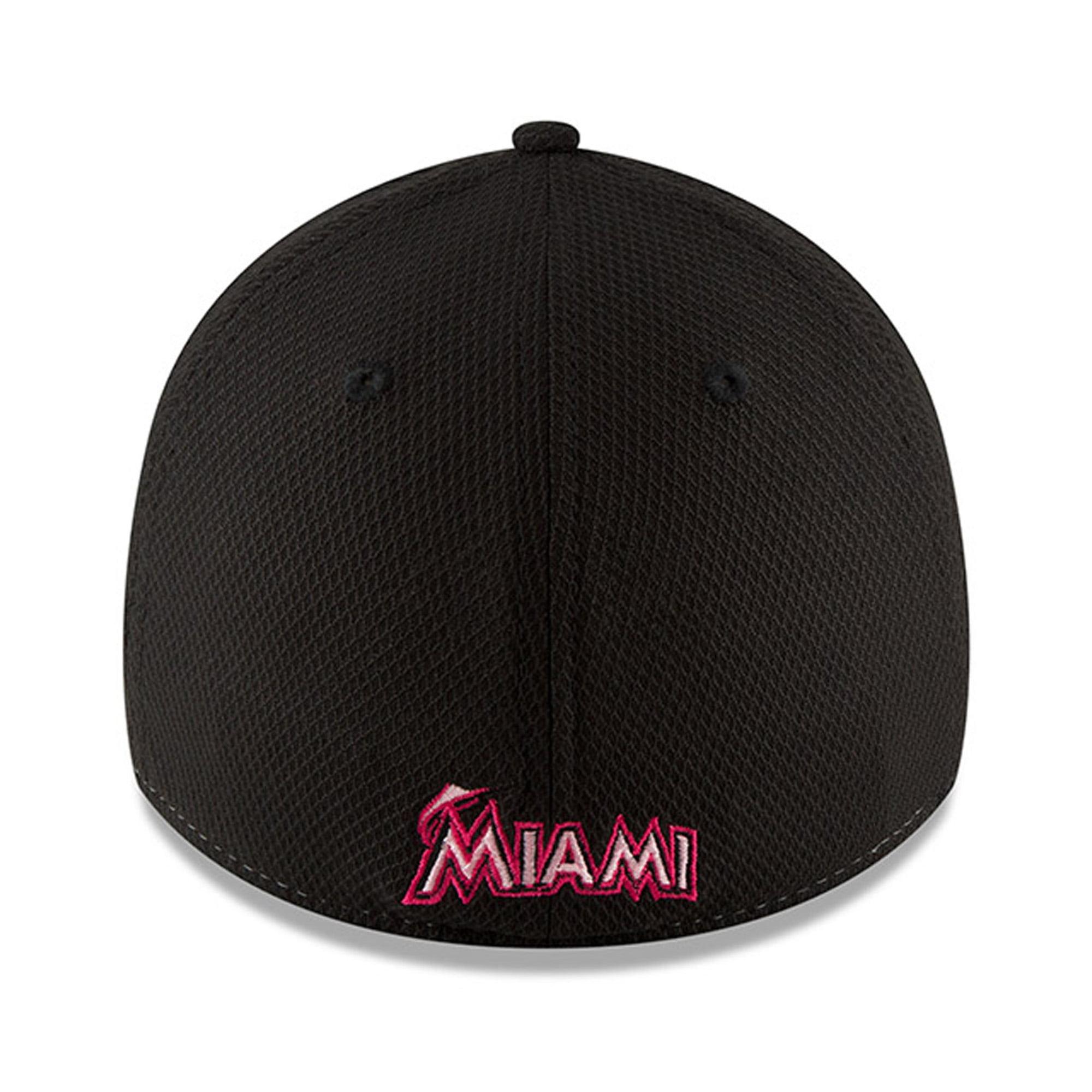 new style 54d4d fe883 Miami Marlins New Era 2018 Mother s Day 39THIRTY Flex Hat - Pink -  Walmart.com