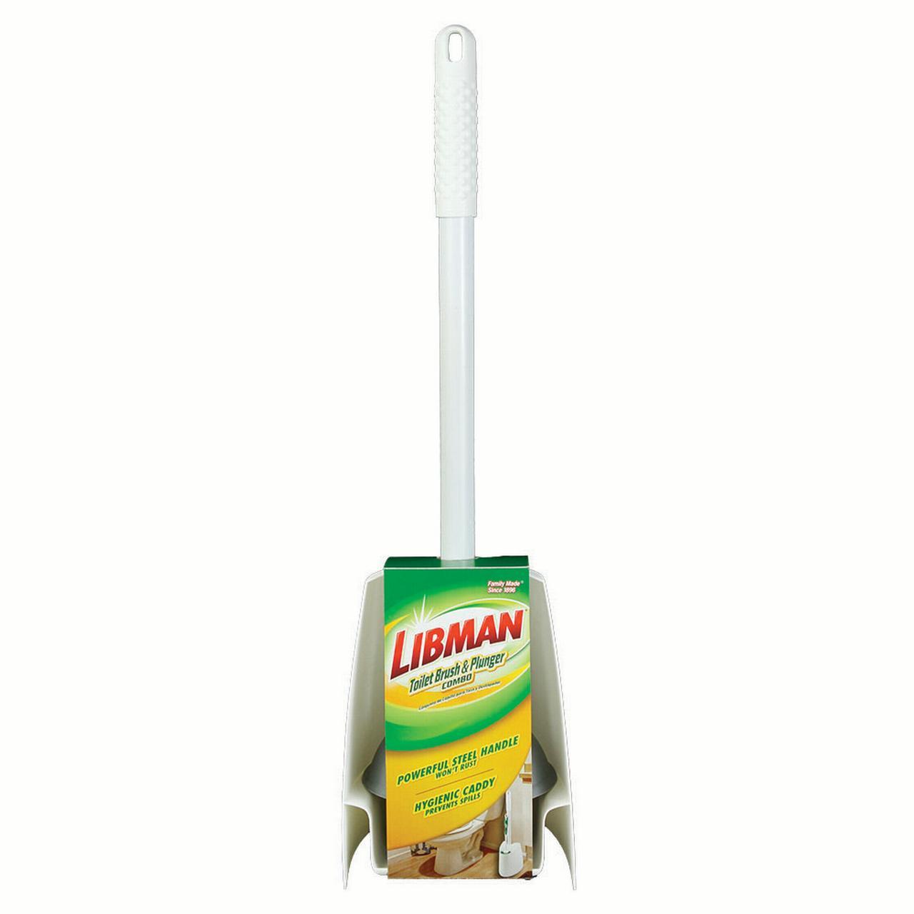 Libman Toilet Brush Amp Plunger Combo Walmart Com