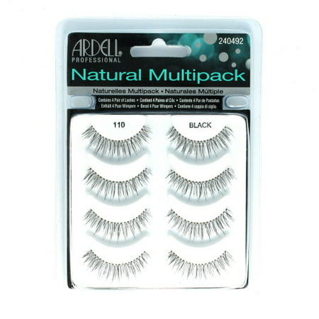c46bb654493 ‹Back to False Eyelashes. ARDELL Professional Natural Multipack - 110 Black  (12 Pack) - image 1 of ...