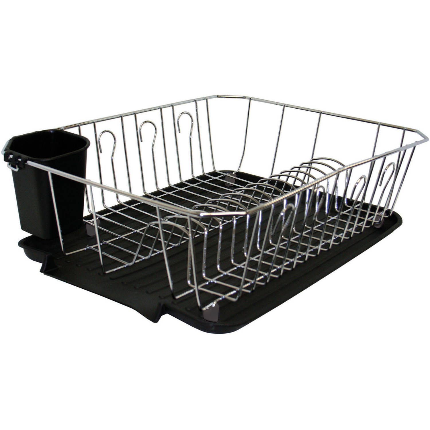 Kitchen Details Dish Rack, Chrome