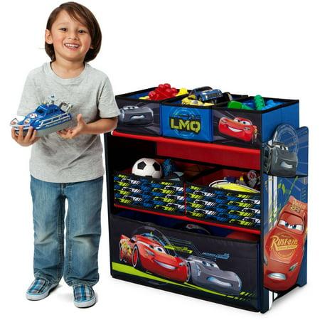 Best Disney Pixar Cars Multi-Bin Toy Organizer by Delta Children deal