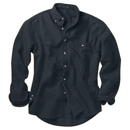 River's End Mens  Long Sleeve Denim & Twill Shirt  Casual  Shirt