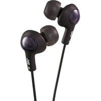 JVC Gumy Plus In-Ear Headphones, Black 1 ea