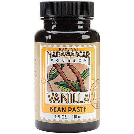 Natural Madagascar Vanilla Bean Paste-4Oz