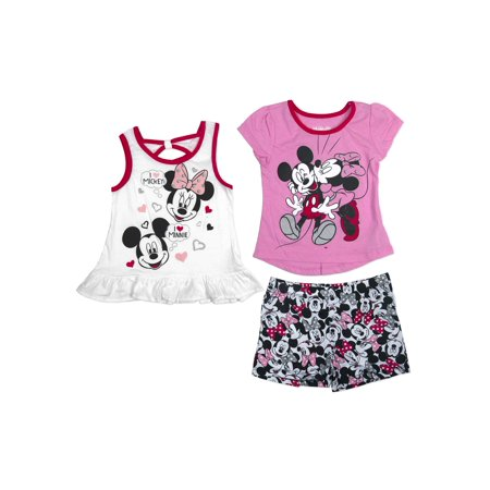 0ba94a37232c8 Minnie Mouse - Minnie Mouse Little Girls' 4-6X