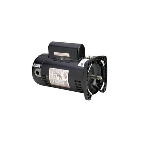 - A.O. Smith SQS1102R 1HP Square Flange Two Speed Motor