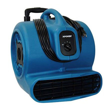 Xpower X-830h X-830h Air Mover With Telescopic Handle & Wheels