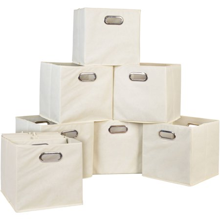 Niche Cubo Foldable Fabric Storage Bin, Set of 12 - Tall Storage Bins