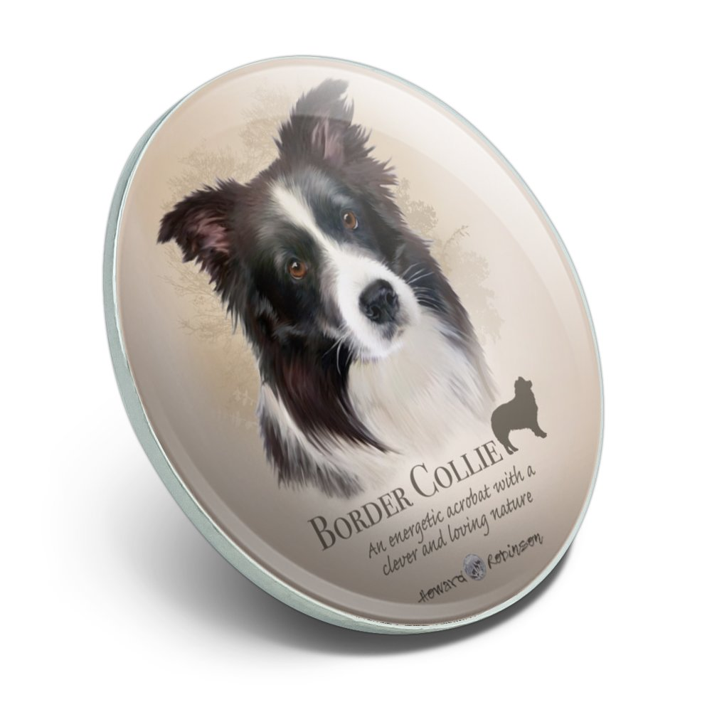 Border Collie Dog Breed Pinback Button Pin