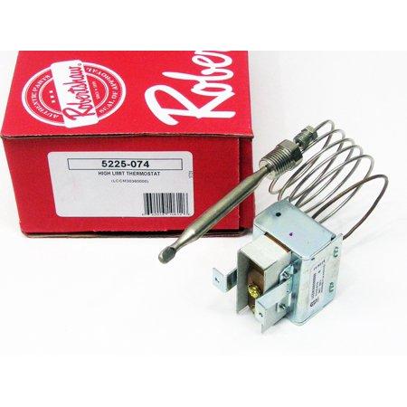 Robertshaw 5225-074 Hi Limit Safety Thermostat LCCM300360000 for Frymaster 8073516