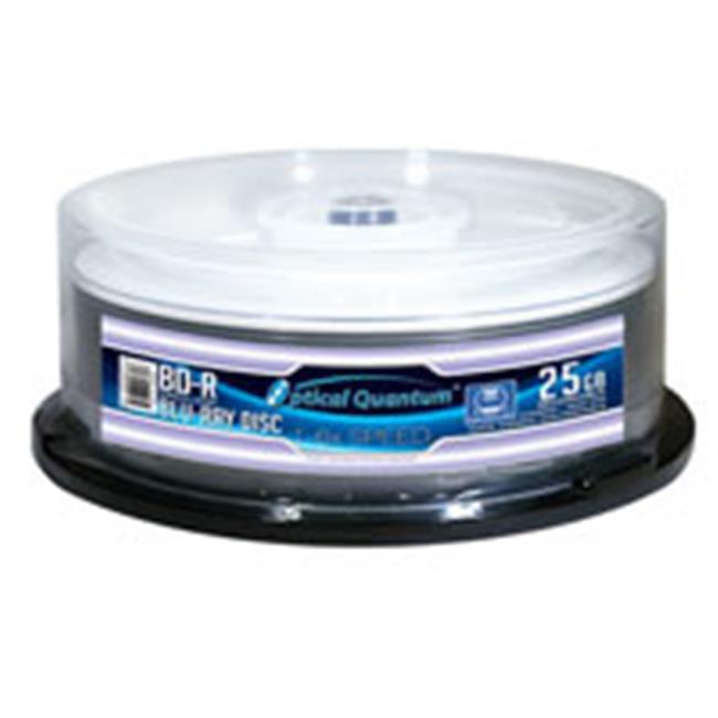 OpticalQuantum6X 25GBBD-R White Thermal Everest Hub Printable - 25 pcs