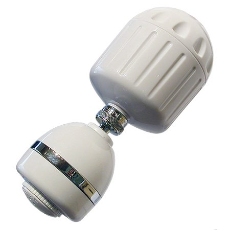 Sprite (HO2-WH-M) High Output Shower Filter with Head; White](Punch With Sprite)