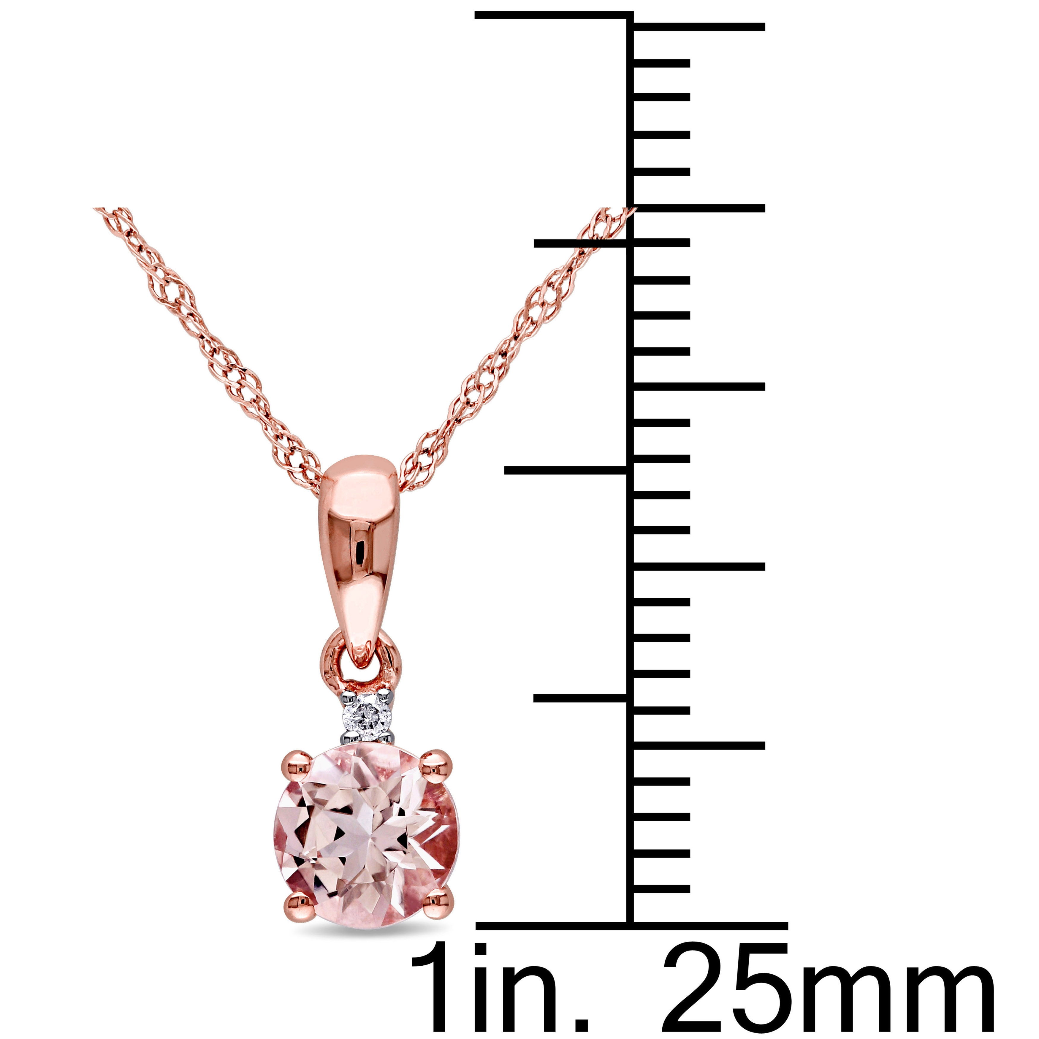 with and womens image jewellers white diamond pendant chain avanti gold quot necklaces morganite