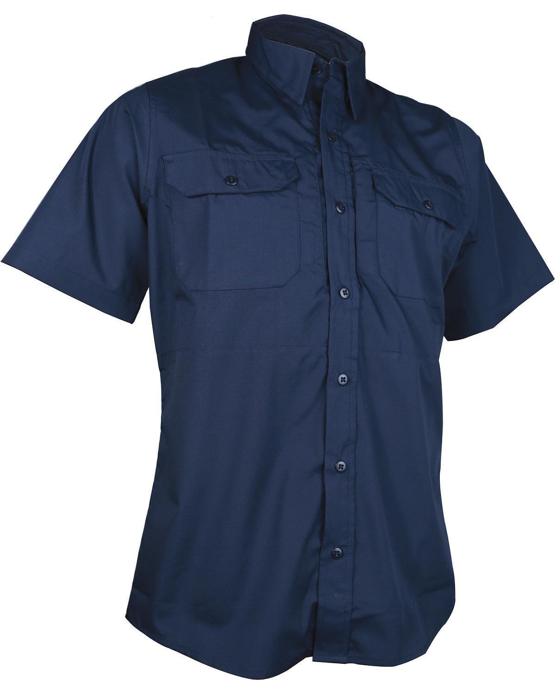 Tru-Spec Men's Navy 24-7 Short Sleeve Dress Shirt - 1345