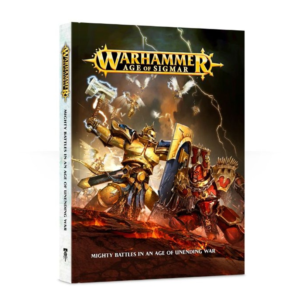 Warhammer Age of Sigmar English Hardcover Book by Games Workshop