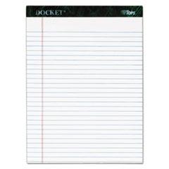 TOPS Docket Writing Tablet, 8 1/2
