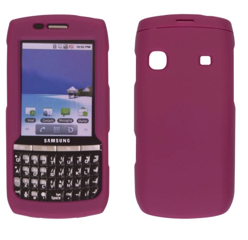Ventev Soft Touch Case for Samsung Replenish SPH-M580 - Berry