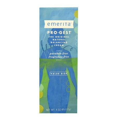 Emerita Pro-Gest Cream, 4 Oz