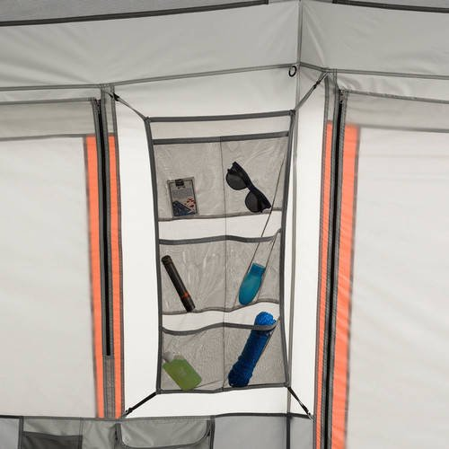 Ozark Trail 10-Person Instant Lighted Cabin Tent - Walmart com