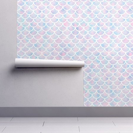 Old Wallpaper Pattern - Peel-and-Stick Removable Wallpaper Sfdesignaday Scale Seamless Pattern
