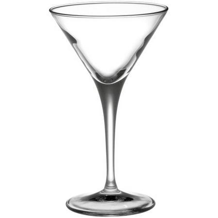 Bormioli Rocco Ypsilon Stemware Martini Cordial Glasses, Set of 6 by