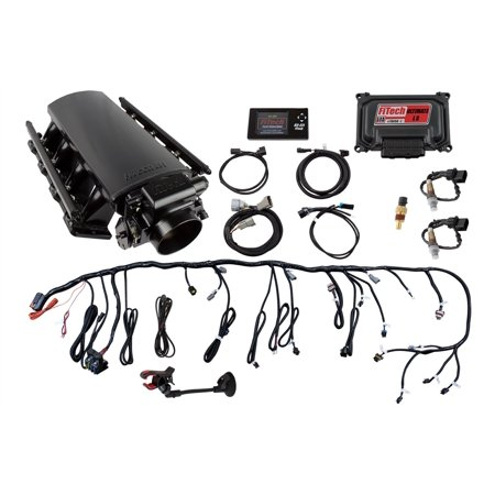 FiTECH FUEL INJECTION 70011 Electronic Fuel Injection Systems Ultimate EFI LS Kit 500 HP w/o Trans
