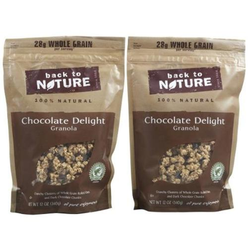 Back To Nature Granola Chocolate Delight Pouches