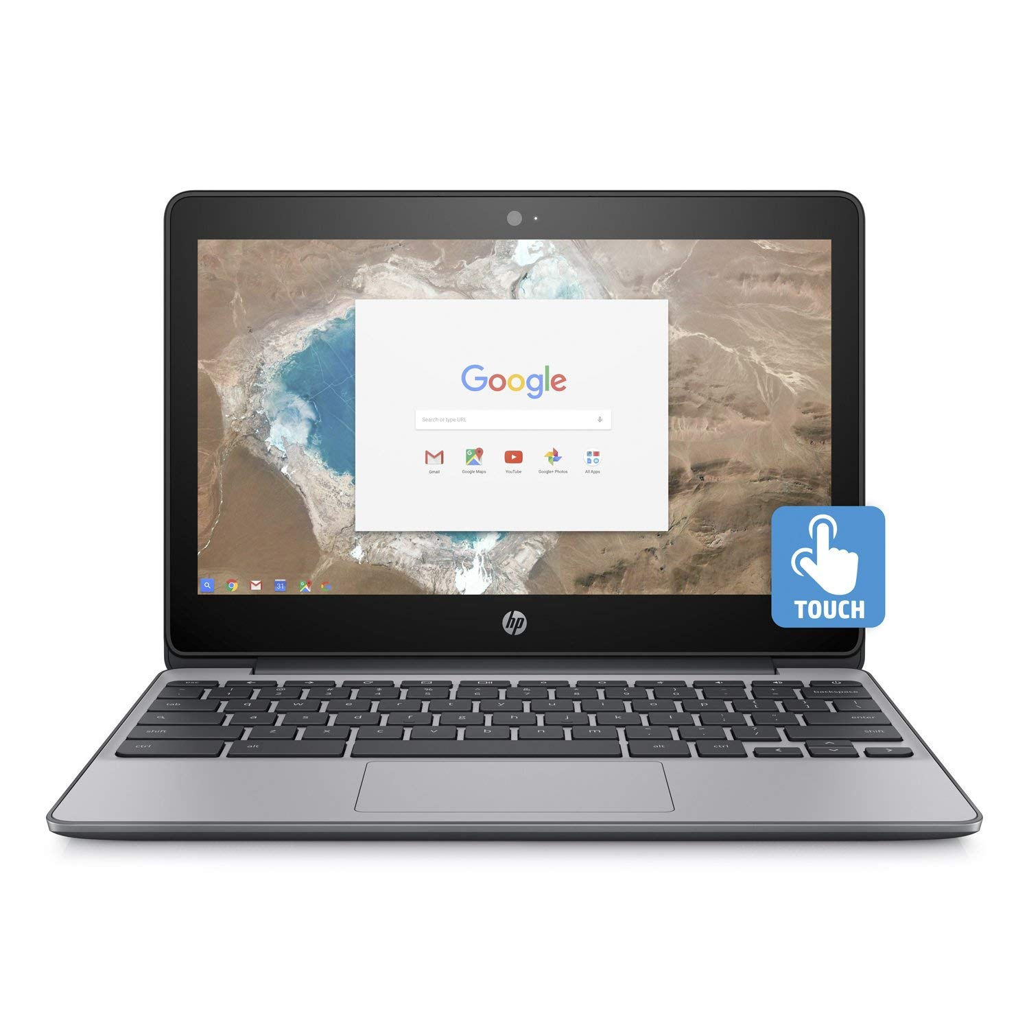 "HP Chromebook 11-v032nr 11.6"" Touchscreen Laptop N3060 4GB 16GB ChromeOS Refurb"