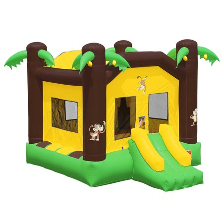 Inflatable HQ Commercial Grade Bounce House 100% PVC Jungle Jumper Inflatable Only - Inflatable Hammers Wholesale