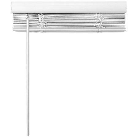 "Biltek Cordless Venetian Window Blinds Horizontal 1"" Slats Privacy Shade Anti-UV White - 18"" W x 64"" H - image 2 de 7"