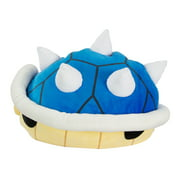 "Nintendo Mario Kart Club Mocchi Mocchi Plush, 15"" Blue Shell Super Soft Plush Stuffed Toy"