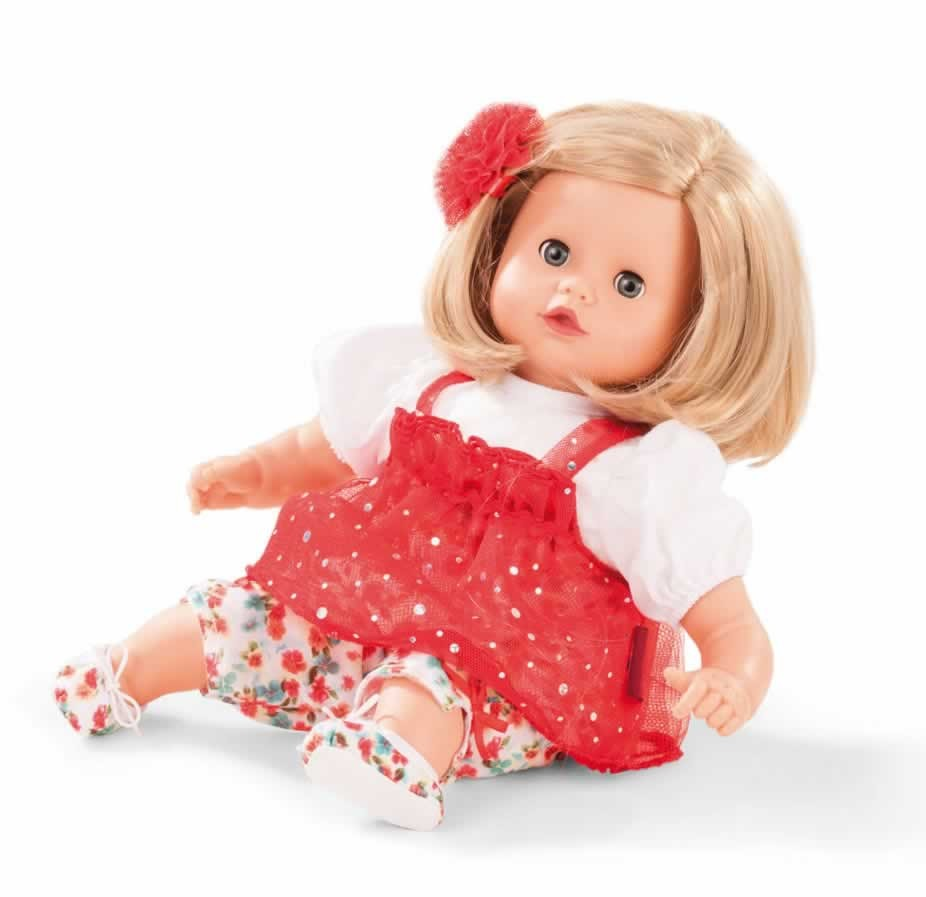 """GOTZ Muffin 13"""" Soft Baby Doll with Blonde Hair and Blue ..."""