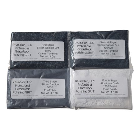 Rock Tumbler Grit for 3 Pound Tumbler